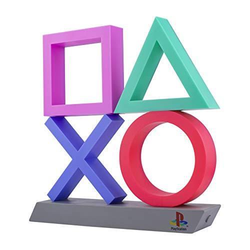 Icono Playstation iluminación decorativa