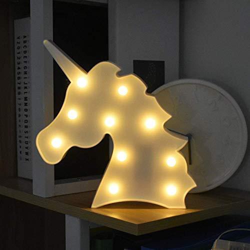 unicornio luces nocturnas