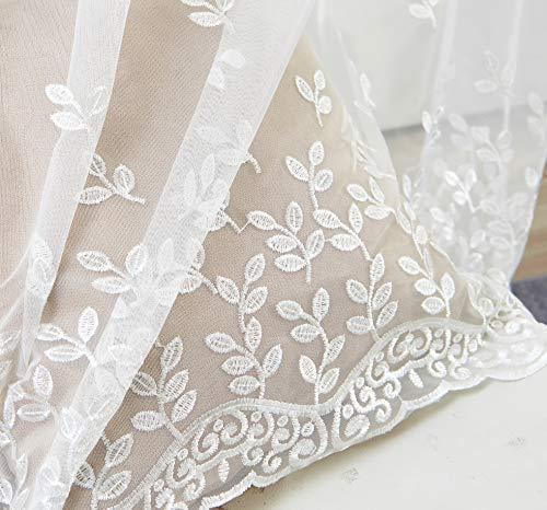 cortina bordada
