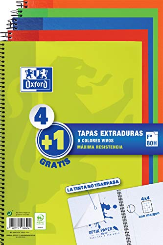 cuadernos Oxford 80 hojas